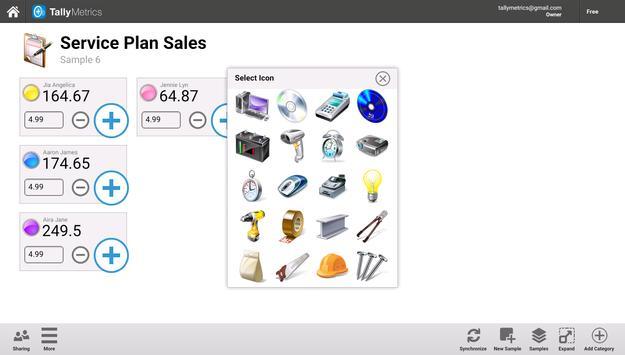 Tally Metrics apk screenshot