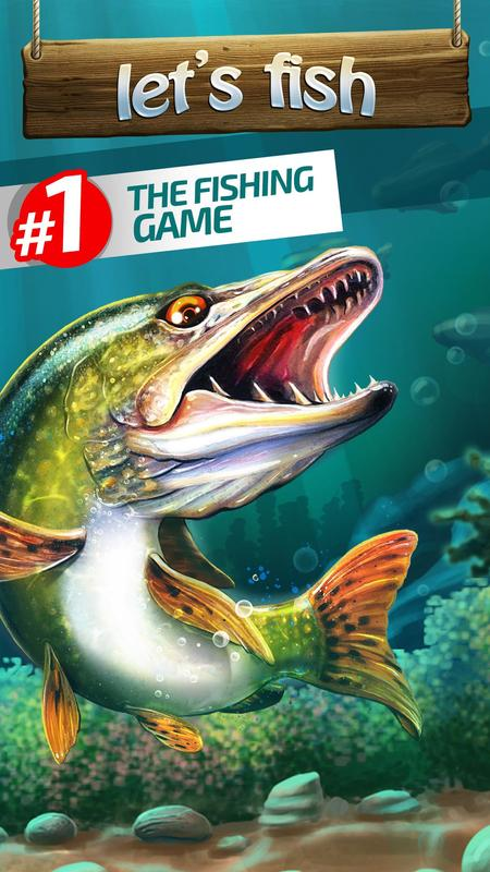 Let 39 s fish sport fishing game apk download free for Best fishing game app