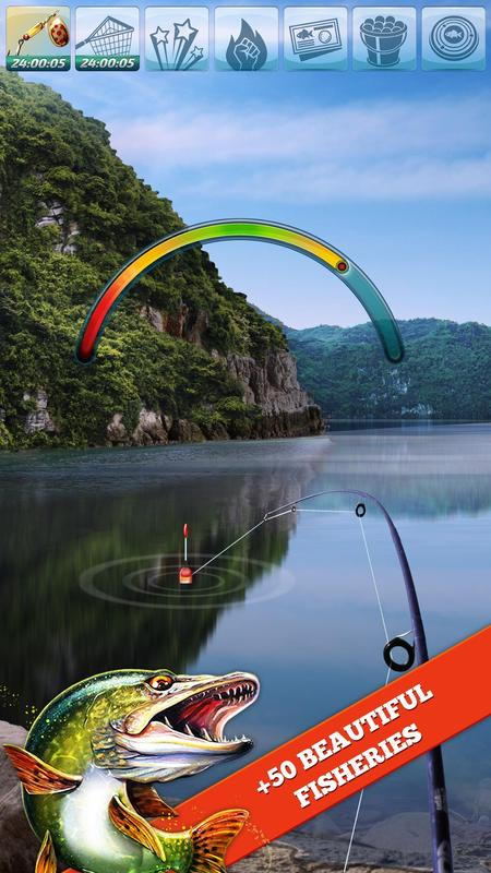 Let 39 s fish sport fishing game apk download free for Sport fishing games