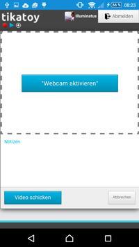 Tikatoy Videomail apk screenshot