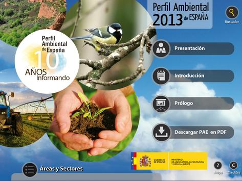 Perfil Ambiental de España HD poster