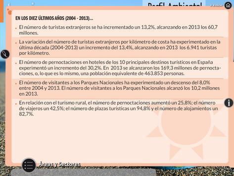 Perfil Ambiental de España HD apk screenshot