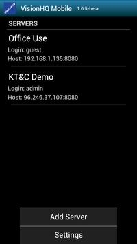 VisionHQ Mobile apk screenshot
