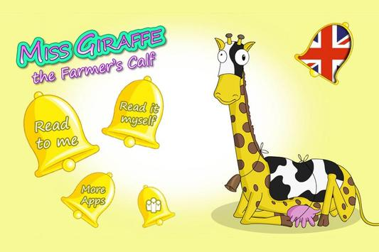Miss Giraffe The Farmers Calf apk screenshot