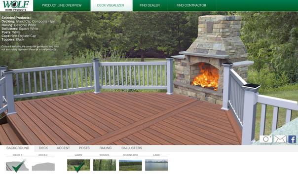 WOLF Deck and Rail Visualizer apk screenshot