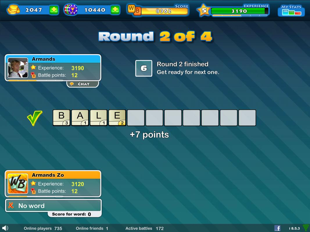 Letter Word Game Multiplayer