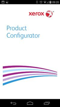 Xerox Product Configurator poster