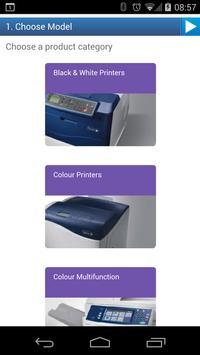 Xerox Product Configurator apk screenshot