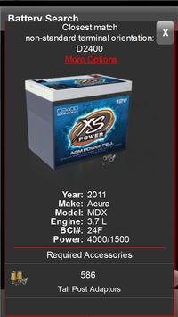 XS POWER® BATTERY SEARCH 2.0 apk screenshot