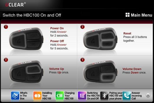 UCLEAR HBC100 apk screenshot