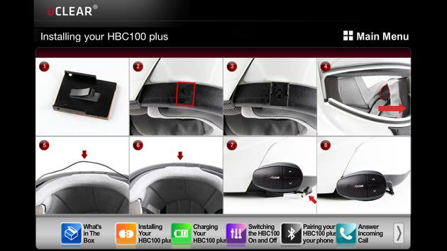UCLEAR HBC100 Plus apk screenshot