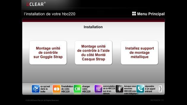 UCLEAR HBC220 FRENCH apk screenshot