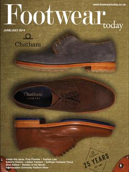 Footwear Today poster
