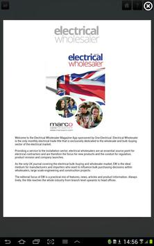 Electrical Wholesaler poster