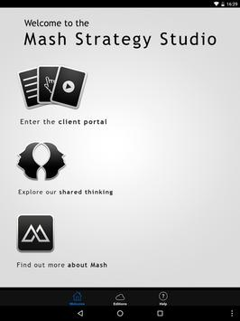 Mash Strategy poster