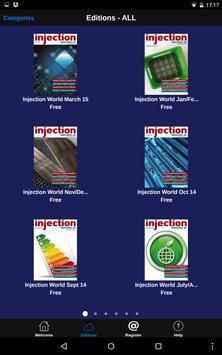 Injection World magazine apk screenshot