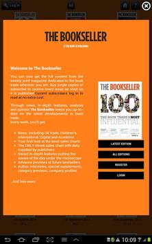 The Bookseller apk screenshot