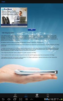 ExecSense apk screenshot