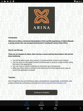 Abina apk screenshot