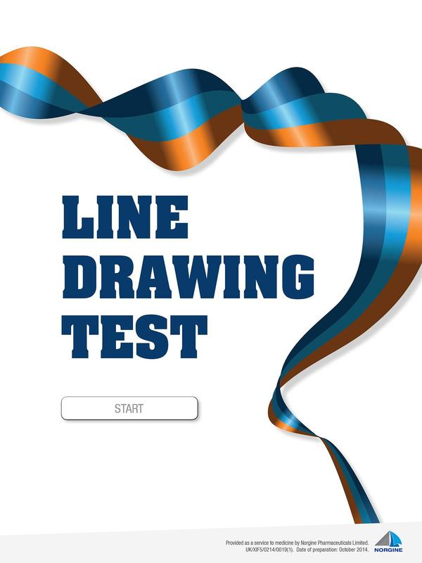 Drawing Smooth Lines Quiz : Line drawing test apk download gratis kedokteran apl