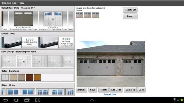Amarr Door Designer Pro apk screenshot