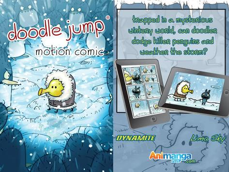 Doodle Jump Motion Comics apk screenshot
