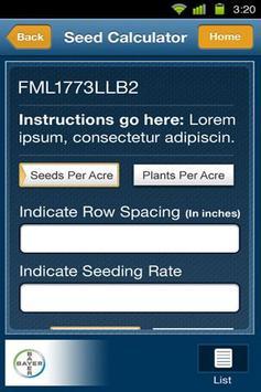 Seed Planner apk screenshot