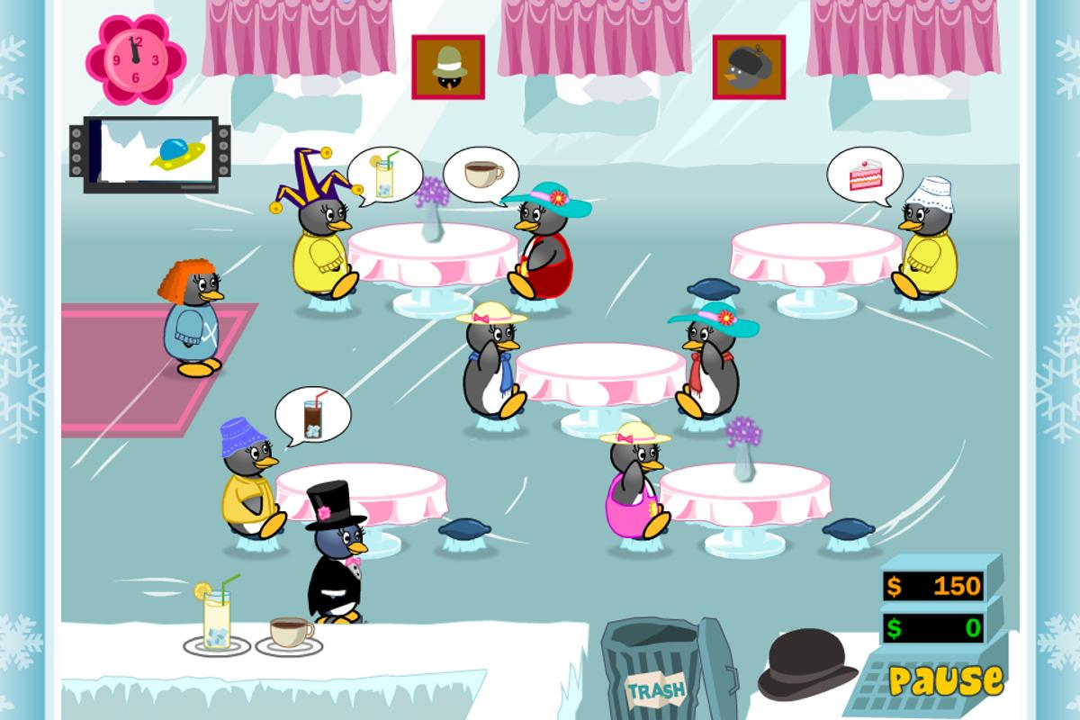 penguin diner 2 online game