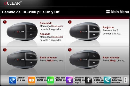 HBC100 Plus Spanish Guide apk screenshot