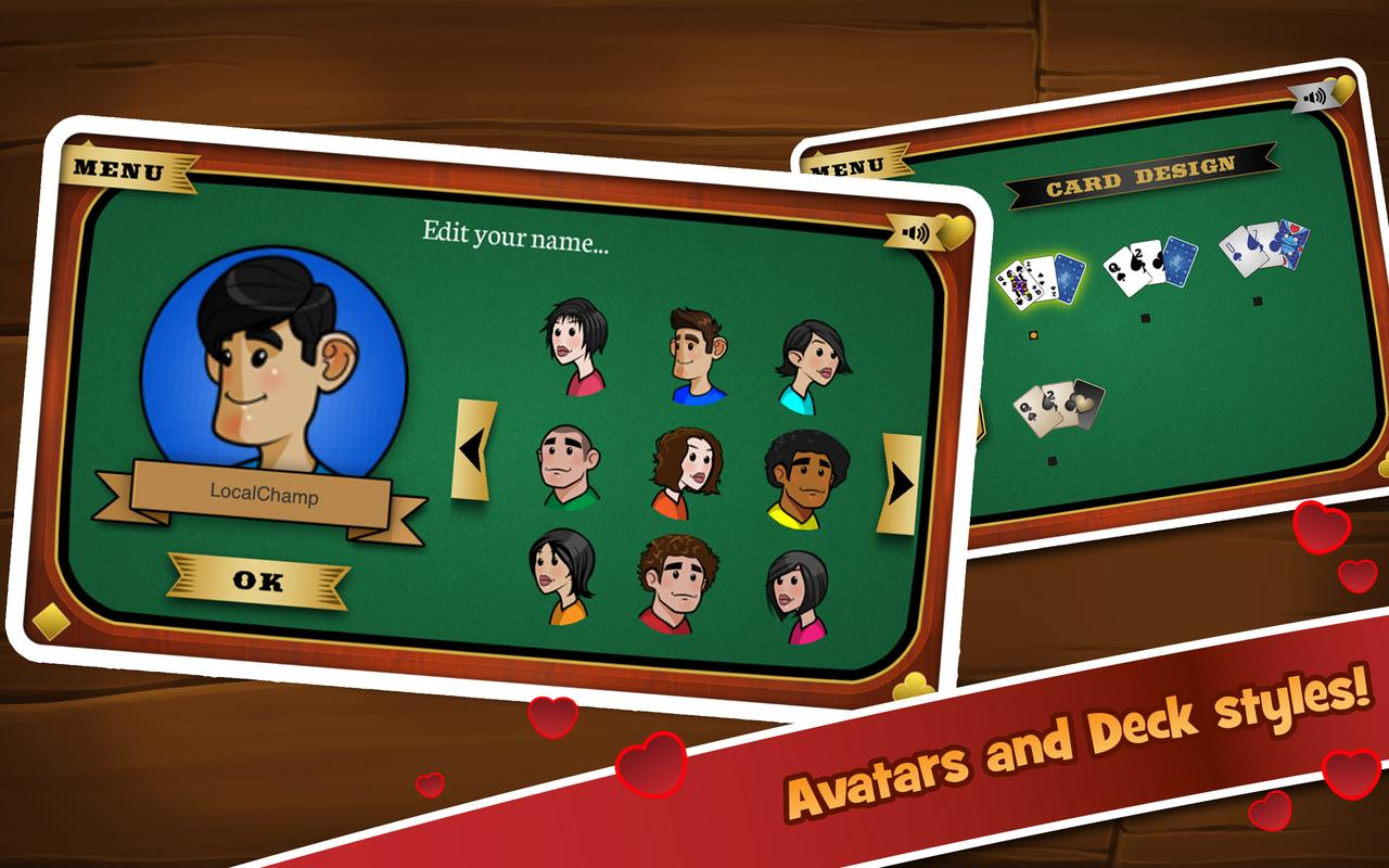 Online Hearts Game Multiplayer