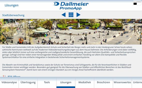 Dallmeier PromoApp (Deutsch) apk screenshot
