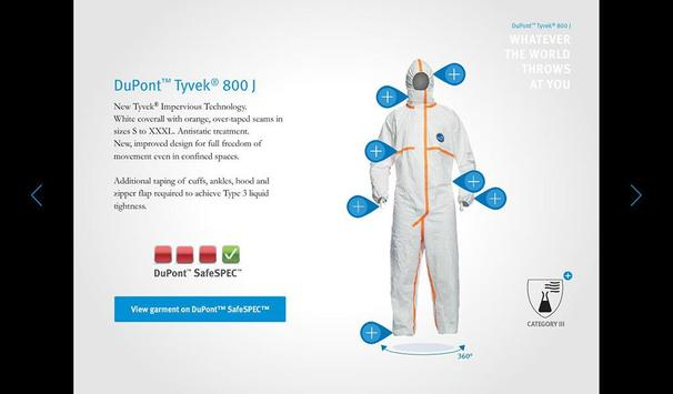 DuPont™ Tyvek® 800 J apk screenshot