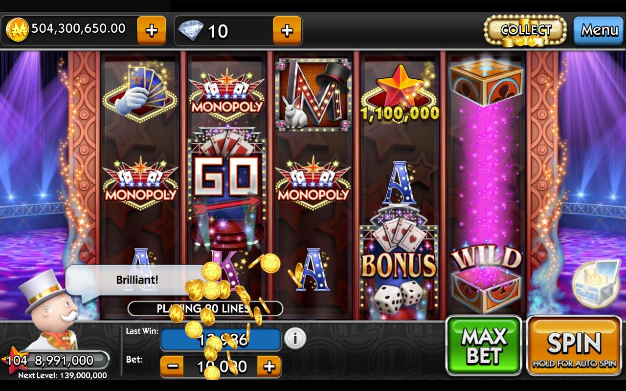 free online monopoly slots online casino game