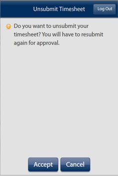 BBSI Mobile Timesheet apk screenshot