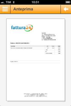 Fattura24 apk screenshot