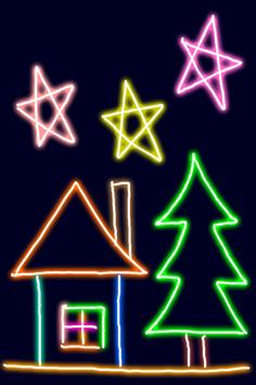 Neon Blink Draw apk screenshot