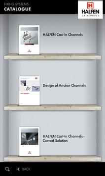 HALFEN Catalogues apk screenshot