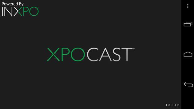 XPOCAST poster
