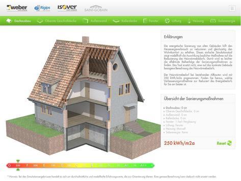 Energiesparsimulation poster