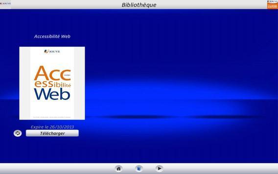Livre numérique apk screenshot
