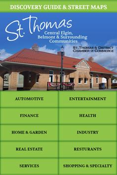 St. Thomas Chamber of Commerce poster