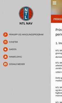 NTL NAV poster