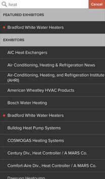 2015 AHR EXPO apk screenshot