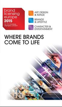Brand Licensing Europe 2015 poster