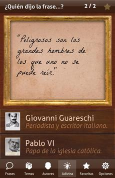 Frases Históricas apk screenshot