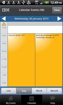 GRP Events apk screenshot