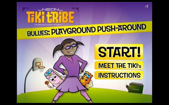 Neon Tiki Tribe: Bullies FREE poster
