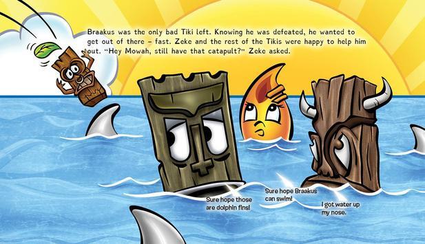 Neon Tiki Tribe: Bullies FREE apk screenshot