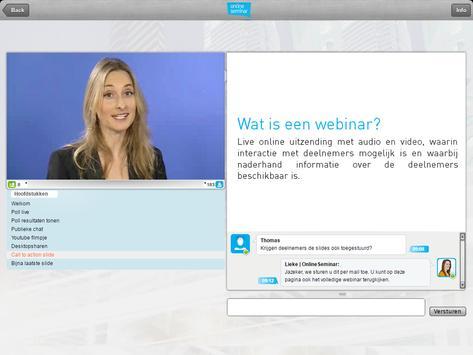 OnlineSeminar Viewer apk screenshot
