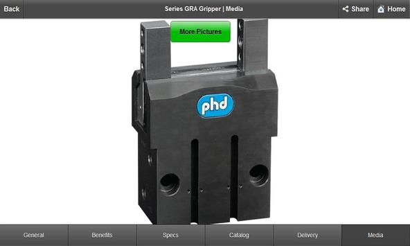 PHD Product Specs apk screenshot
